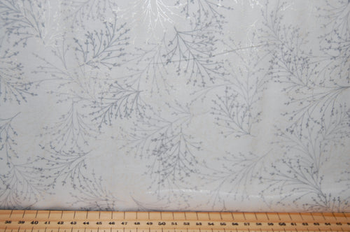 Fabric Shack Sewing Quilting Sew Fat Quarter Cotton Patchwork Dressmaking Maria Kalinowski Kanvas Studios Dragonflies Dragon fly Metallic Silver Tree Blossom Tossed Sprig Dove