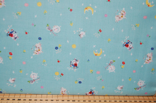 Fabric Shack Sewing Quilting Sew Fat Quarter Cotton Quilt Jill Howarth Riley Blake Once Upon a Rhyme Nursery Books Library Humpty Dumpty Hey Diddle Cat Fiddle Hickory Dickory Dock Jack & and Jill