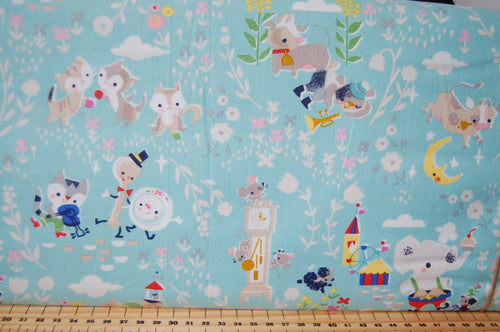 Fabric Shack Sewing Quilting Sew Fat Quarter Cotton Quilt Jill Howarth Riley Blake Once Upon a Rhyme Nursery Books Library Humpty Dumpty Hey Diddle Cat Fiddle Hickory Dickory Dock Jack & and Jill  (3)
