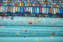Fabric Shack Sewing Quilting Sew Fat Quarter Cotton Quilt Jill Howarth Riley Blake Once Upon a Rhyme Nursery Books Library Humpty Dumpty Hey Diddle Cat Fiddle Hickory Dickory Dock Jack & and Jill Piggy
