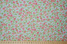 Fabric Shack Sewing Quilting Sew Fat Quarter Cotton Quilt Patchwork Dressmaking Cath Kidson  Classic Floral Flower Guernsey Roses Paisley Pink Blue Cream Large Small 2