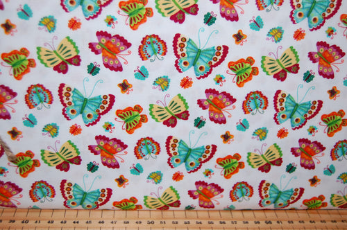 Fabric Shack Sewing Quilting Sew Fat Quarter Cotton Quilt Patchwork Dressmaking Debi Hron Henry Glass Spring Awakens Awakenings Forest Fox Owl Squirrel Folk Art Boho Animals Woodland (7)
