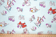 Fabric Shack Sewing Quilting Sew Fat Quarter Cotton Quilt Patchwork Dressmaking Kids Bedroom Curtains Ben Byrd Riley Blake Dragons Castle Knight Fairytale Wood Horses Flying Mythical Magical (3)