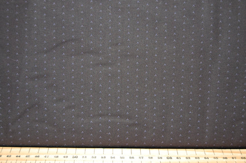 Fabric Shack Sewing Quilting Sew Fat Quarter Cotton Quilt Patchwork Dressmaking Makower Andover Bijoux Grey Ditsy Small Print Gray 8706 Vee Midnight