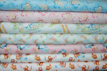 Fabric Shack Sewing Quilting Sew Fat Quarter Cotton Quilt Patchwork Dressmaking Washington Street Studio That's My Baby Nursery Rhymes Little Bo Peep Kittens Mittens Jack & Jill Kitsch Retro Vintage