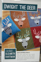 Fabric Shack Sewing Quilting Sew Fat Quarter Cotton Quilt Patchwork Pattern Elizabeth Hartman Dwight the Deer Reindeer Stag Christmas