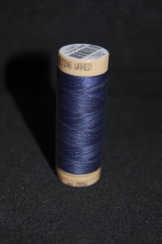 Fabric Shack Sewing Quilting Sew Fat Quarter Cotton Quilt Wax Waxed Hand Thread 40 150m Navy Blue