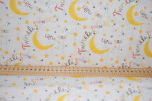 Fabric Shack Sewing Quilting Sew Fat Quarter Cotton Twinkle Twinkle Little Star Moon Lion Owl Giraffe Elephant Gender Neutral 3