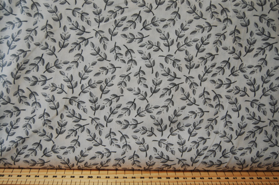 Fabric Shack Sewing Quilting Sew Fat Quarter Quilt Cotton Moda Deb Strain Home Grown Homegrown Animals Farm House Farmhouse Chicken Cow Pig Sheep Check Leaf Monochrome Grey Black White Gingham Spiral Circ (5)