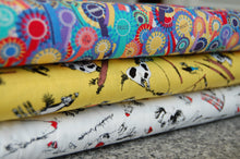 Jane Makower Gymkhana Horse Pony Rosette Fat Quarter Pack Cotton Fabric