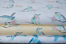 Michael Miller Butterfly Row Bird Watch Cotton Fabric