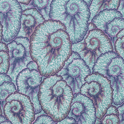 Kaffe Fassett Free Spirit 'Spring' Curlique Light Blue