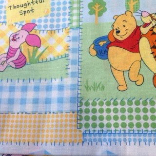 Disney Winnie Pooh & Friends Patchwork Thoughtful Spot