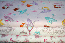Swizzle Stick Studio E Bella Rina Ballerina Dancer TuTu Tiara Mirror Ballet Shoe Cotton Fabric Fat Quarter Pack