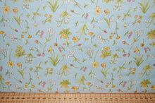 fabric shack sewing quilting sew fat quarter cotton quilt patchwork anita jeram clothworks guess how much I love you when I'm im big rabbit bunny bunnies frogs daffodils (2)