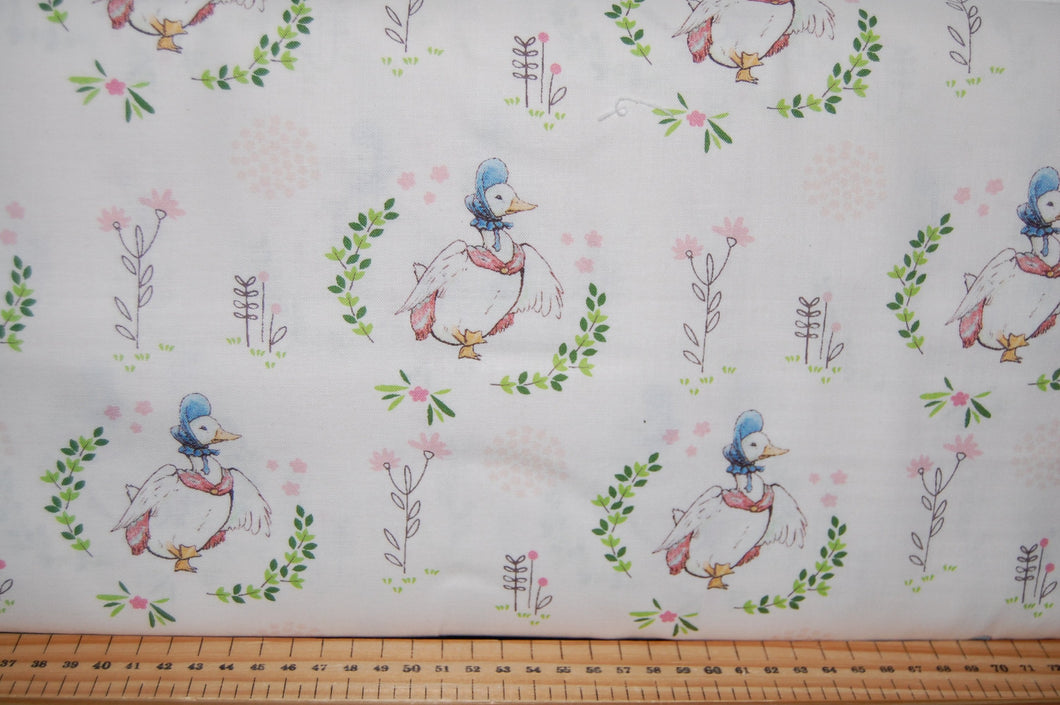 fabric shack sewing quilting sew fat quarter cotton quilt patchwork dressmaking beatrix potter peter rabbit panel flopsy mopsy jemima puddleduck mrs tiggywinkle jeremy fisher (3)