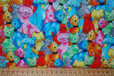 fabric shack sewing quilting sew fat quarter cotton quilt patchwork dressmaking blank pablo picatsso picasso artist palatte palette paint brush cat kitten art drawing painting paw prints studio (8)