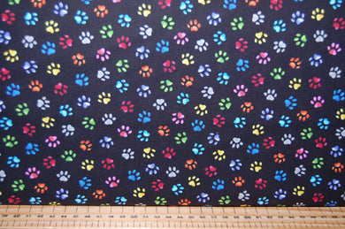 fabric shack sewing quilting sew fat quarter cotton quilt patchwork dressmaking blank pablo picatsso picasso artist palatte palette paint brush cat kitten art drawing painting paw prints studio (6)