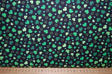 fabric shack sewing quilting sew fat quarter cotton quilt patchwork dressmaking colour color principle henry glass irish folk st saint patricks paddy's day leprechaun pixie luck shamrock pot gold celtic knot
