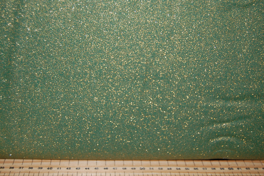 fabric shack sewing quilting sew fat quarter cotton quilt patchwork dressmaking john louden glitter foil green gold