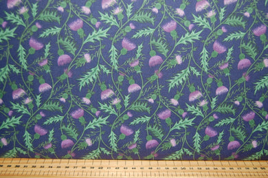 fabric shack sewing quilting sew fat quarter cotton quilt patchwork dressmaking lewis and irene celtic coorie scotland highland cattle stag thistle scottish check tartan pheasant cow blackwatch deer h (3)