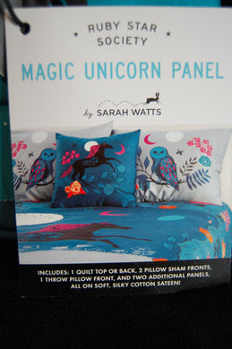 fabric shack sewing quilting sew fat quarter cotton quilt patchwork dressmaking sarah watts moda ruby star society crescent and & brushed unicorn owl bear magic magical moon machine duvet quilt pillow sham