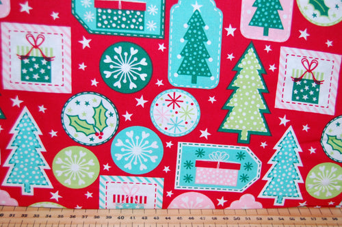 fabric shack sewing quilting sew fat quarter cotton quilt patchwork dressmaking stuart hillard nutcracker candy sweets stripes trees christmas holiday soldier fairy mouse drum rocking horse