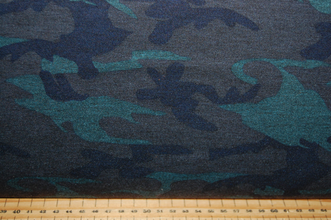 fabric shack sewing quilting sew fat quarter ponte roma ponta di stretch double knit jersey dressmaking cammoflague camouflague cammouflague Cammo jungle urban (2)