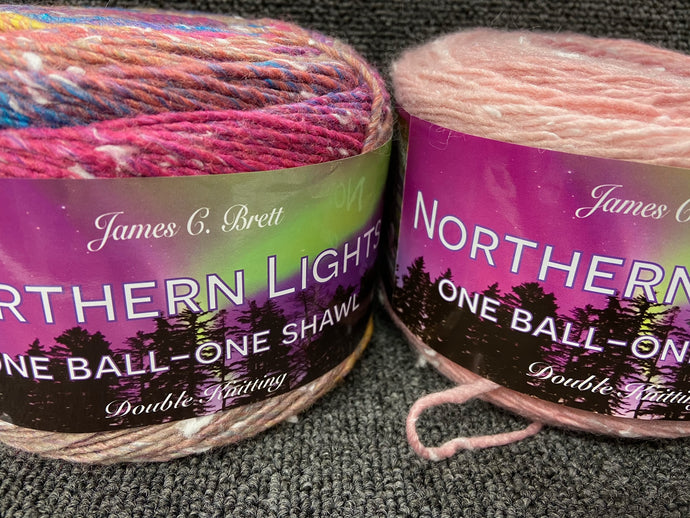 fabric shack knitting knit crochet wool yarn james c brett northern lights double knit dk various colours