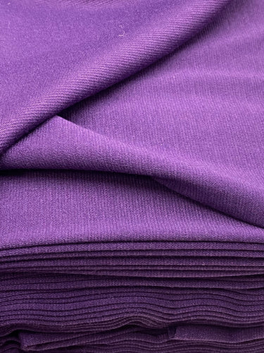fabric shack sewing dressmaking tailoring tailor ponte roma ponte de roma jersey stretch double knit purple