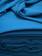 fabric shack sewing dressmaking tailoring tailor ponte roma ponte de roma jersey stretch double knit teal blue