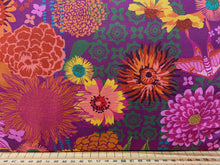 fabric shack sewing quilting sew fat quarter cotton patchwork quilt crystal manning for moda kasada flowers moths berry pink