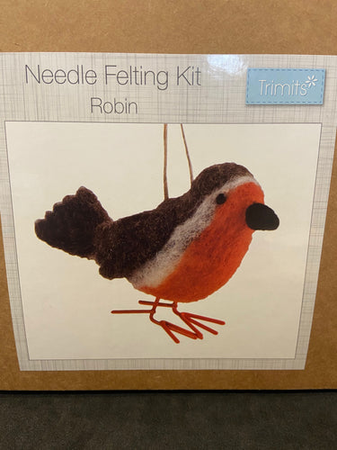 Trimits Needle Felting Kit Robin