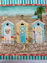 fabric shack sewing quilting sew fat quarter cotton quilt beth albert 3 three wishes beach travel panel beach huts