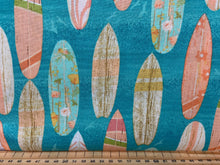 fabric shack sewing quilting sew fat quarter cotton quilt beth albert 3 three wishes beach travel surf boards