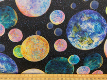 fabric shack sewing quilting sew fat quarter cotton quilt josephine wall for 3 three wishes celestial journey planets