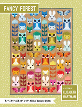 fabric shack sewing quilting sew fat quarter cotton quilt patchwork elizabeth hartman block piece fancy forest (2)