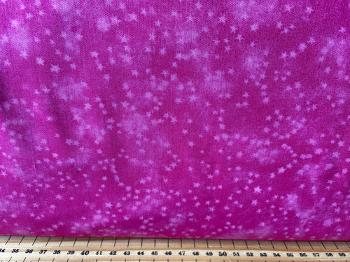 fabric shack sewing quilting sew fat quarter cotton quilt patchwork studio e mixer blender marble stars star hot pink
