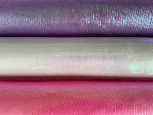 fabric shack sewing quilting sew fat quarter cotton quilt rainbow pearlescent fluorescent organza shiney shiny ballerina princess pink purple white (2)