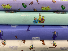 fabric shack sewing quilting sew fat quarter cotton quilt roald dahl quentin blake the witches mouse frog toad fairy fairytale real spell 3