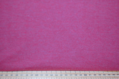 fabric shack sewing sew cotton hoxton jersey fleck flecked knit stretch t-shirt brick red