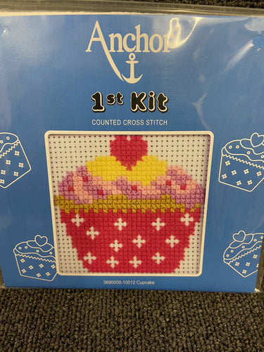 fabric shack sewing sew crosstich cross stitch kits kit first 1st childs kids