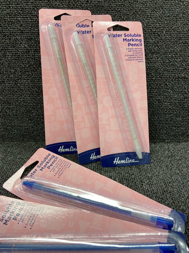 fabric shack sewing sew dressmaking tailoring hemline water erasable pen pencil white blue
