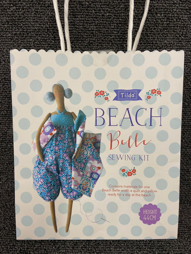 fabric shack sewing toy doll kit tilda lazy days beach belle