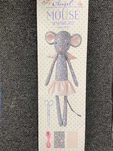 fabric shack sewing toy doll kit tilda old rose angel mouse