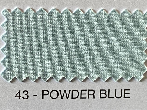 Fabric Shack Sewing Quilting Sew Fat Quarter Cotton Patchwork Dressmaking Plain powder blue 43