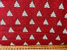 fabric shack sewing quilting sew fat quarter cotton quilt patchwork bunny hill designs moda country christmas holiday holidays sheep tree stripe border print red grey jumpers