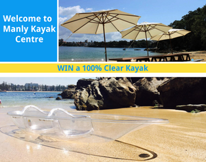 WIN a 100% Clear Kayak!