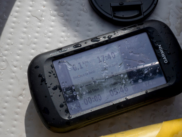 GPS Showing Speed of Slider 485 Inflatable Kayak