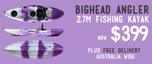 Bighead Angler Cheap 2.7m Fishing kayak